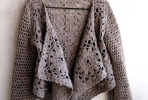 CROCHET-JACKET,BALERO,SWEATER / by Denise Erskine