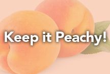 Keep it Peachy! / by Oatworks