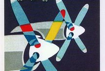 Airline posters / Great vintage airline posters / by Donna Piranha