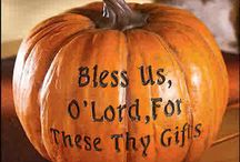 Happy Fall Y'all & Thanksgiving / All things Fall & Thanksgiving / by Denise Mattern-Morton