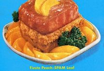 "Gallery of Very Regrettable Food / A collection of nasty looking ""vintage"" food from the mid-20th century. Note: Not all of the captions on these pins are mine and I wish I knew exactly who wrote them so I could give them proper credit, because you deserve recognition for your creative use of snark and humor.  / by Kathy Kramer"