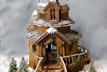 Gingerbread houses / by Stephanie Remelts
