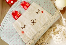 bags and pouches / by The Crafter's Apprentice