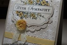 Really beautiful cards / Cards that were made by really talented people / by virginia booker