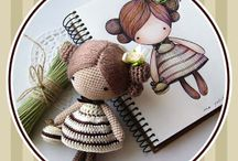 Amigurumi dolls & Kokeshis / by Maria Georgiou