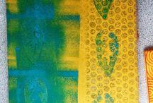 Gelli Plate printing / by Deborah O'Hare