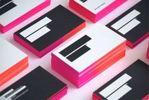 stationery  / business cards / letterhead / invitations / print / by Claire Vincent