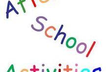 Daycare School activities / by Vickie Wineman-Degonia