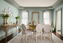 Color Trends 2012 / Looking for color inspiration this year? Our professional color experts have put together a list of their favorite colors for 2012 - inspiring our 1 room, 2 looks collection! / by Benjamin Moore