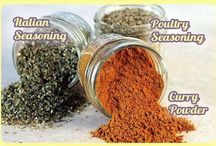DIY mixes and seasonings / by Billie Calderwood