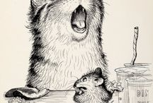 Classic Kid's Book Illustrators / Some old-time favorites... / by Jennifer Thermes