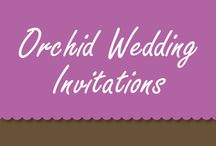 Pantone Orchid Wedding Invitations / Find the latest Orchid Wedding Invitations for 2014 in this board.  / by Bride & Groom Direct