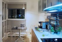 Small Kitchen Designs / Small Kitchen Designs, If you have a small kitchen, don't be depressed, there are now many solutions that help you for the best use of your small kitchen design area. These solutions are such as the kitchen cart that enables you to save more space without difficulty with sliding it under your sink, or you can place your kitchen cart at any room. In addition to that it can be used as storage area as it has space drawers and cutting boards / by kitchen designs 2014 - kitchen ideas 2014 .