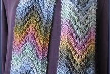 Knitting-scarves / by Mary Ann Nash