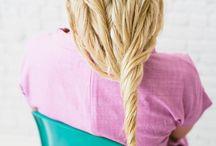 Pantene Summer Hair Inspiration / no heat, air-dry summer hair ideas / by bri emery / designlovefest
