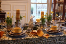 tablescapes / by Charlene Bargert