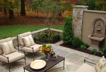 Beautiful Patios-Landscaping / by Stephanie Pfeffer