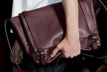 Men Bags and Small Leather Goods / by Rosella Vaccaro