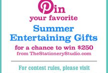 The Stationery Studio Summer Contest / Sweepstakes / by Patricia Hoffmeister