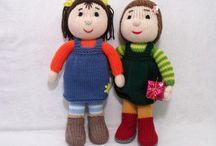 Knit doll patterns / by CSKraft
