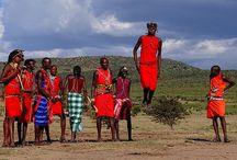 Kenia/Tanzania-Massai / by Carla Van Galen