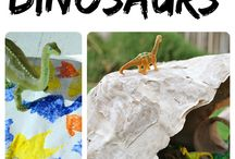 Dinosaurs / by Sarah Swalley
