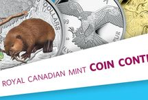 WIN 1 OF 15 PRIZES / The Royal Canadian Mint Coin Contest is on now until August 31, 2014. Enter daily for a chance to win some great coins! 15 prizes. $5,000 total prize value. All you have to do is visit us at www.mint.ca/contest, read the contest rules and register. Register daily to increase your chances. No purchase necessary. / by Royal Canadian Mint