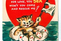 Vintage valentines / Valentines given to my father in the 1930's. / by Cindy Pauly DeLaurentis