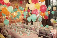 Fun Party Decor / by Serena M.
