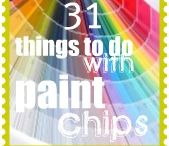Crafts - Paint Chips / by Lucille Hall