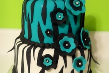 animal print cakes & and african themed cakes / by elda alvarado
