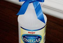 cleaning (vinegar) / by Tina Johnson