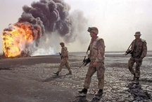 MILITARY: Desert Storm - Persian Gulf War (1990 - 1991) / by RJ Mohler