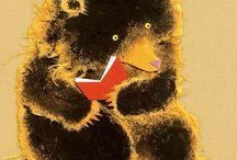 With books / by Noriko Kitahara