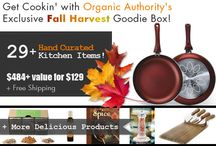 Get Cooking with Organic Authority's 2013 Fall Harvest Goodie Box! / by Organic Authority