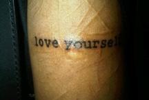 Tattoos :) / by Dallas Rene' Knight