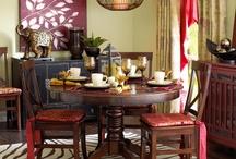 Dining Room Ideas / by Amanda Rice Harvey