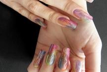 Artistic Polish Nail Art / Nail art created using Artistic nail polish. / by Nail Art Gallery
