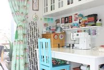 Sewing room / by Claire Wilding