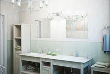 salle de bains / by Marie Pasquier