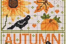 Cross Stitch: Autumn & Halloween / by Christel Krampitz