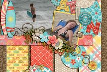 beach/vacation/summer scrapbook pages / by Heather Oakes