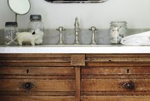 bathrooms / by Holly Mathis Interiors