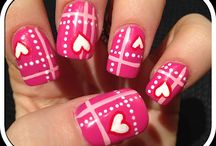 February nail art / by Andie Halfacre