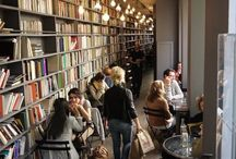 Coffee Shops And Bookstores / These two go together so well. Will pin any combination of both.  / by Nahanie