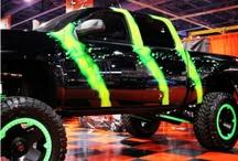 Cool cars and trucks!!! / by Caleb Davis
