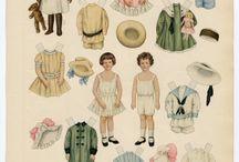 Paper dolls - enfants / by Anne Mali