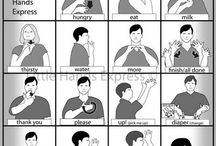 Sign Language / by Katie Rosemary