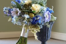 Color: Blue / by Rose of Sharon Floral Designs, Althea Wiles