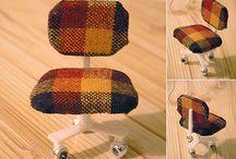 mini furniture / by Lyn Wilson